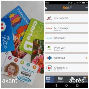 application pour smartphone fidme