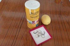 bicarbonate de soude et citron pour nettoyer bijoux de fantaisie