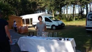 domidora au camping le laha stand bijoux fantaisie