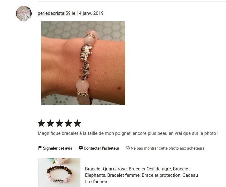 code promo 99771 f22a6 Domidora, créatrice de bracelets en pierres naturelles ...